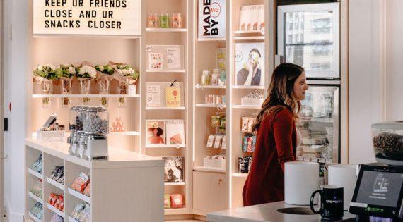 WeWork presenta una tienda de productos fabricados por sus miembros