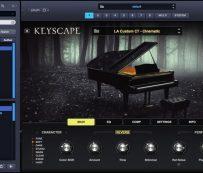 Complementos de teclado de coleccionista realistas: Keyscape
