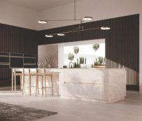 Instalaciones interactivas de cocina totalmente de vidrio: instalación de cocina totalmente de vidrio