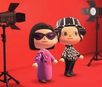 Sesiones de fotos de videojuegos virtuales: trajes de Animal Crossing