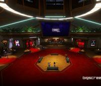 Plataformas de vigilancia compartidas basadas en realidad virtual: TV de pantalla grande