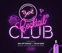 Clubes de cócteles virtuales: Boë Gin