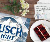 Regalos de boda con la marca Beer: Busch Beer 2020