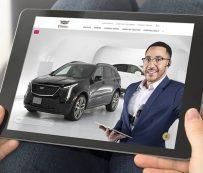 Experiencias de exhibición de autos en vivo: Cadillac Live