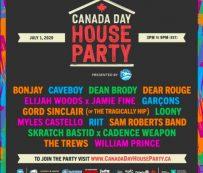 Festivales virales caritativos de marca: fiesta de la casa del día de Canadá