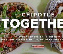 Hangouts virtuales patrocinados por QSR: chipotle Mexican grill