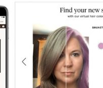 AR Hair Color Generators: muestreo de color