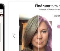 AR Hair Color Generators: muestreo de color