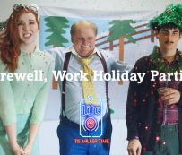 Divertidos anuncios de fiestas navideñas contra el trabajo: despedida, fiestas navideñas