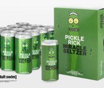 Seltzers con sabor a pepinillo: seltzer con sabor