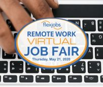 Ferias de trabajo virtual remoto: FlexJobs
