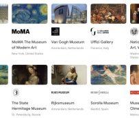 Experiencias virtuales del museo: Google Arts and Culture