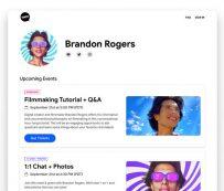 Plataformas de eventos virtuales: Google Fundo