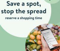 Servicios de reserva de compras de supermercado: reserva de compras de supermercado