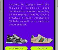 Aplicaciones virtuales de diseño de zapatillas: Gucci Sneaker Garage