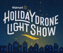 Espectáculos de luces de drones navideños: espectáculo de luces de drones navideños