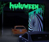 Eventos espeluznantes de Halloween Drive-Thru: huluween1