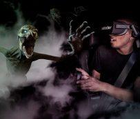 Entretenimiento de RV embrujado en el automóvil: VR en el automóvil
