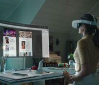 Espacios de trabajo de realidad virtual: Oficina infinita