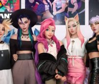 Singles virtuales de K-Pop: K / DA