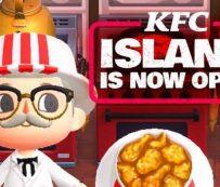 Restaurantes de videojuegos virtuales: kfc island