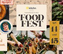 Eventos de redes sociales de Acción de Gracias: Acción de Gracias virtual de Kitchn