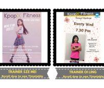 Plataformas de fitness K-Pop para todas las edades: Kpop X Fitness