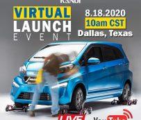 Lanzamientos automotrices virtuales: lanzamiento virtual en vivo