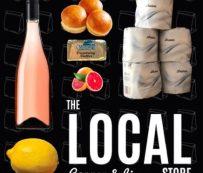Recolecciones de comestibles de marca de restaurante: restaurante público local