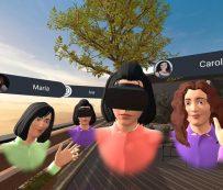 Plataformas de reuniones virtuales integradas: MeetinVR