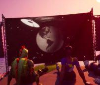 Noches de cine en el juego: evento de proyección de películas