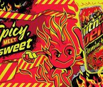 Refrescos cítricos picantes: MTN DEW FLAMIN 'HOT