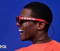 Gafas de sol para interior con visualización de medios: Nreal
