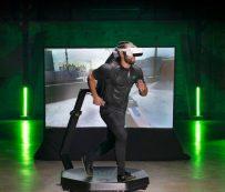 Sistemas de cinta de correr VR listos para el hogar: Cinta de correr Omni One VR