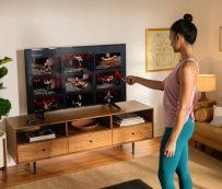 Virtual Fitness Tech Partnerships: Peloton App 1