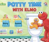 Aplicaciones de entrenamiento para ir al baño basadas en personajes: Hora de ir al baño con Elmo