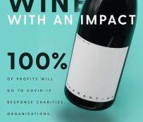 Vinos de cuarentena caritativos: vino de cuarentena