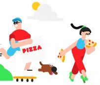 Fiestas de pizza virtual para empleados: reunión remota