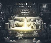 Proyecciones virtuales festivas: Navidad en el sofá secreto