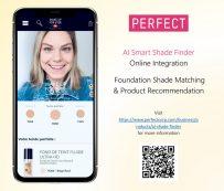 Sombras de maquillaje combinadas con AI: buscador de sombras