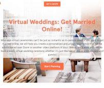 Ceremonias de boda virtuales: simplemente escapadas