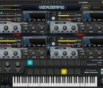 Instrumentos de software digital espectral: SONiVOX Vocalizer Pro
