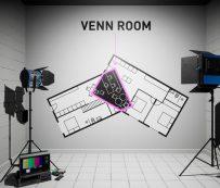 Instalaciones futuristas de realidad virtual: espacio popular