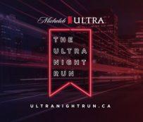 Carreras nocturnas virtuales benéficas: Ultra Night Run