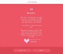 V*AI*lentine Poemas de amor escritos por un algoritmo