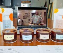 Fiestas virtuales de cata de café: cata de café virtual