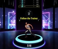 Gamified Virtual Fitness Studios: gimnasio virtual