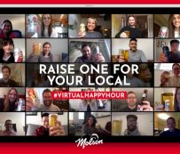 Hora feliz virtual caritativa: Hora feliz virtual