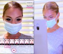 Pruebas cosméticas sin contacto: prueba de maquillaje virtual