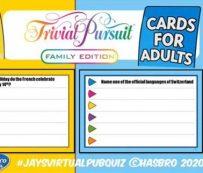 Cuestionarios virtuales aptos para familias: concurso de pub virtual